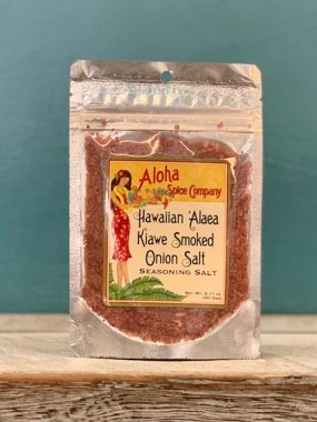 hawaiian alaea kiawe smoked onion salt