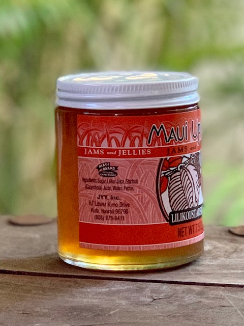 lilikoi starfruit jelly