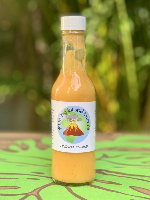 Tutu's Pantry - Da Big Island Burn - 10,000 Island Hot Sauce - 1