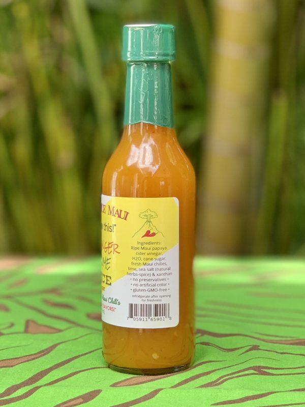 Tutu's Pantry - Volcano Spice Papaya Ginger Chili Lime Sauce - 2