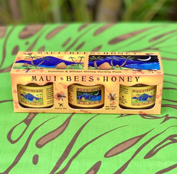 Tutu's Pantry - Maui Bees Summer & Winter Honey Gift Set - 1