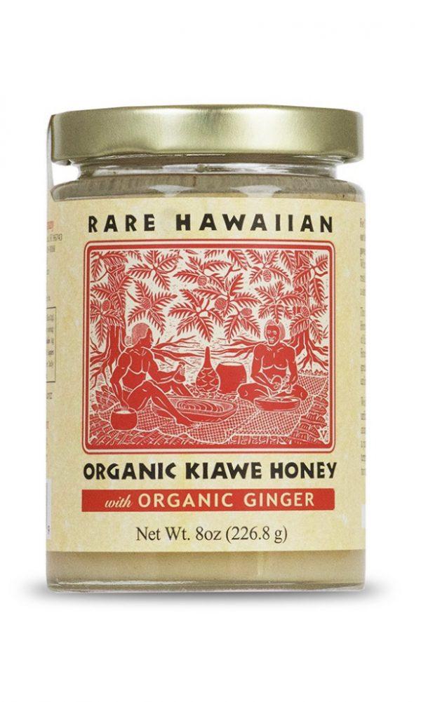 Tutu's Pantry - Rare Hawaiian Organic Kiawe Honey Ginger Infused 3oz - 1