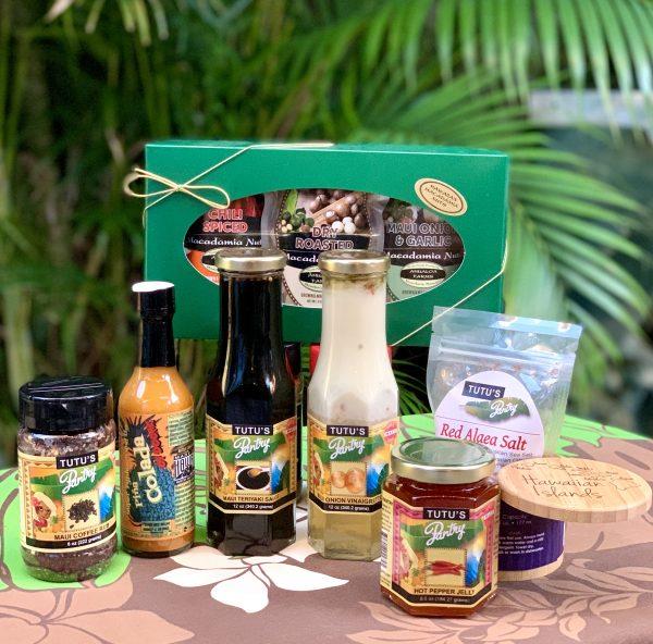 Tutu's Pantry - Hawaiian Condiments and Macadamia Nuts Gift Set - 1