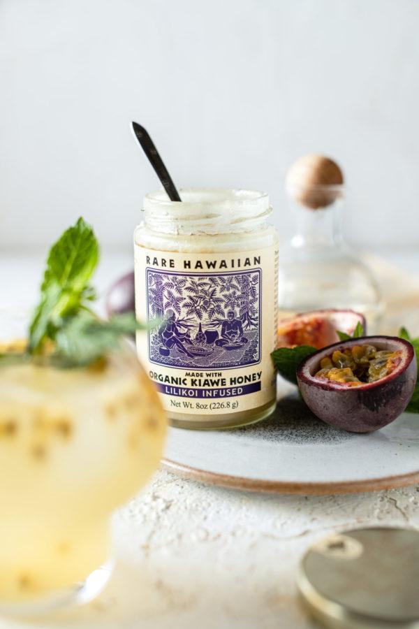 Tutu's Pantry - Rare Hawaiian Organic Kiawe Honey Lilikoi Infused - 2