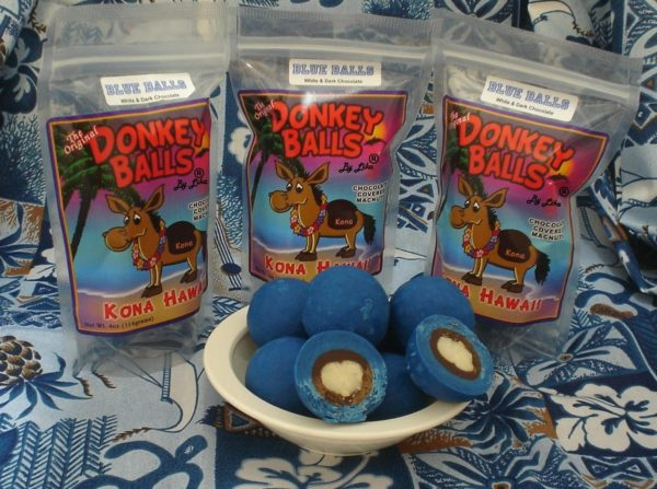 Tutu's Pantry - Blue Balls - Donkey Balls 8oz - 1