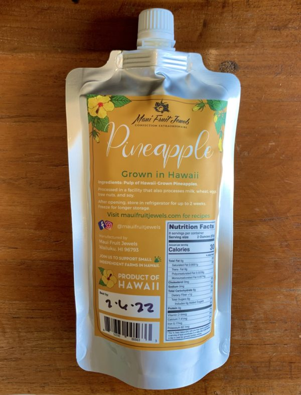 Tutu's Pantry - Hawaiian Fruits Puree - 4 lbs - 9