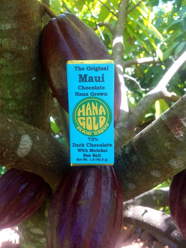 Tutu's Pantry - Hana Gold Maui Chocolates - 72% Dark Chocolate - 2