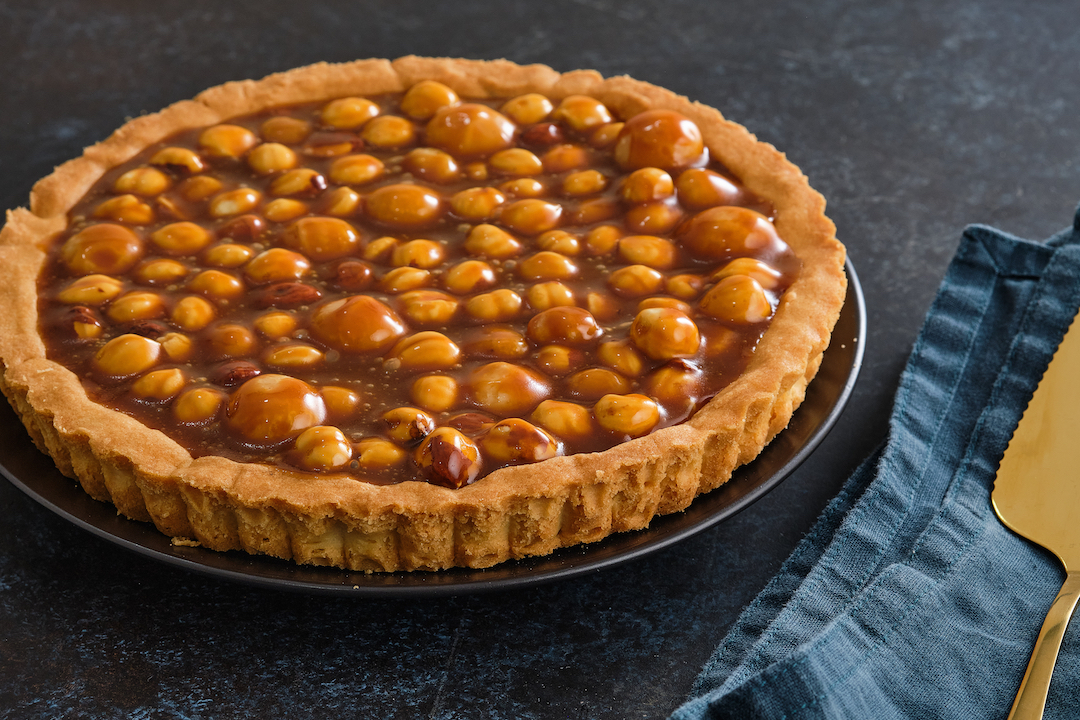 Caramel Macadamia Nut Pie