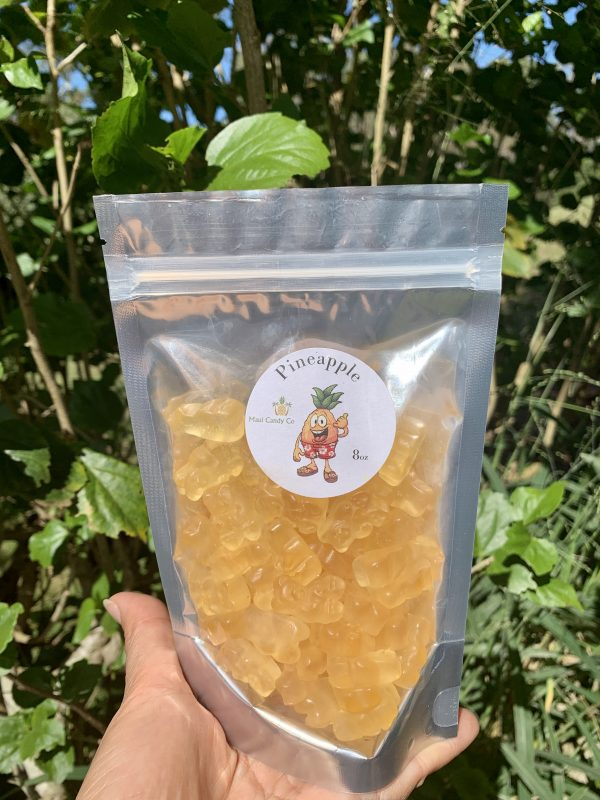 Tutu's Pantry - Maui Pineapple Gummy Bears - 1