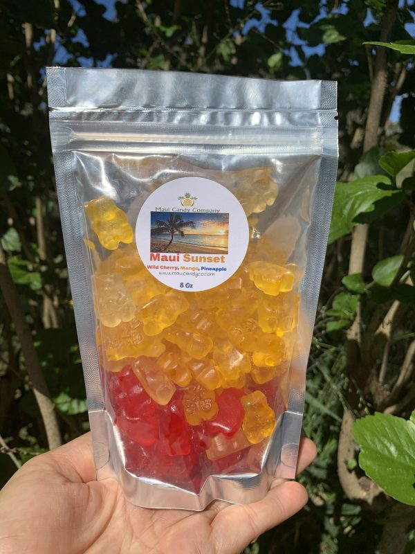 Tutu's Pantry - Maui Sunset Gummy Bears - 1