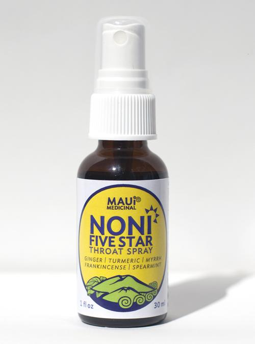 Tutu's Pantry - NONI FIVE STAR THROAT SPRAY - QUALITY BLEND - 1