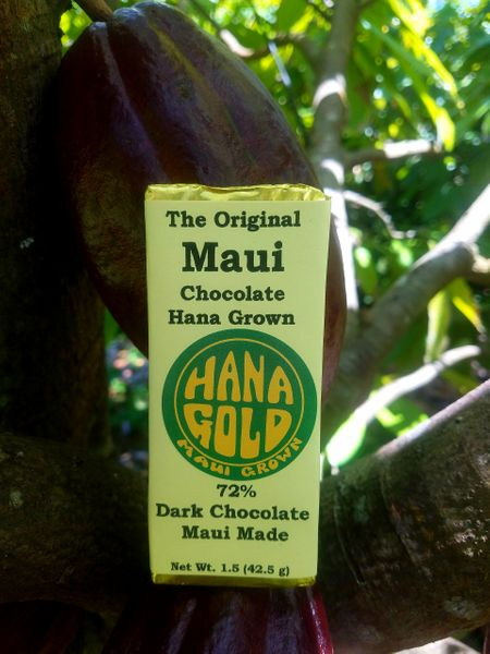 Tutu's Pantry - Hana Gold Maui Chocolates - 72% Dark Chocolate - 1