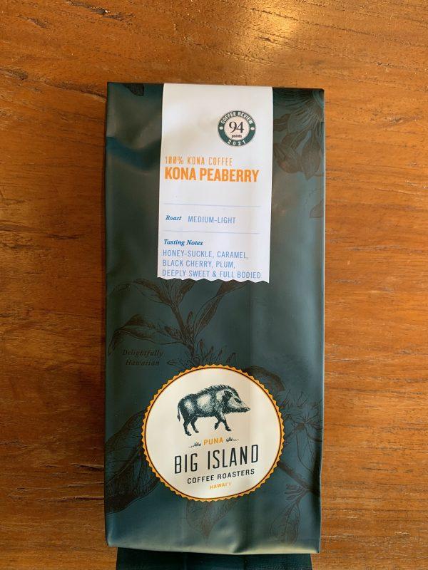 Big Island Peaberry