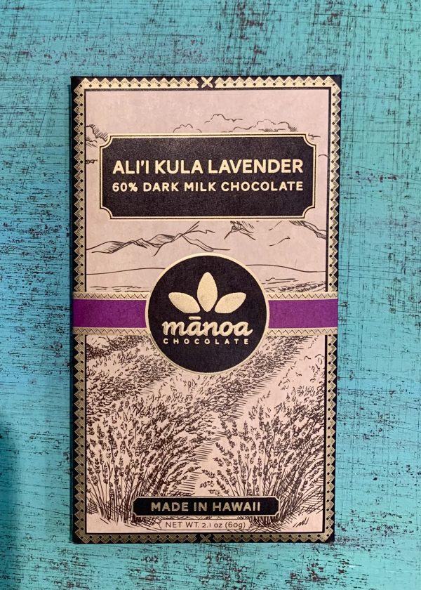 Tutu's Pantry - Ali'i Kula Lavender Manoa Chocolate - 60% Dark Milk Chocolate - 1