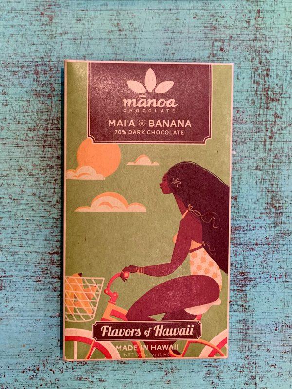 Tutu's Pantry - Mai'a Banana Manoa Chocolate - 70% Dark Chocolate - 1