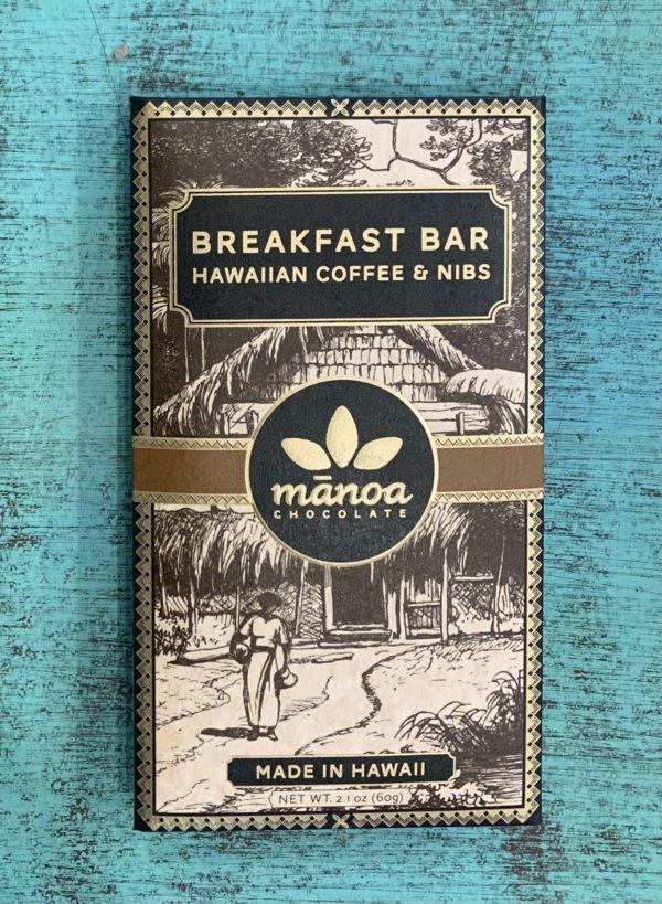 Tutu's Pantry - Breakfast Bar Manoa Chocolate Hawaiian Coffee & Nibs - 1