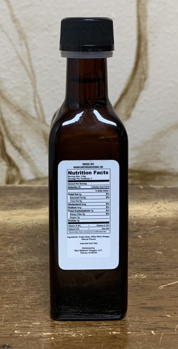 Tutu's Pantry - Maui Balsamic Vinegars Lilikoi - 2