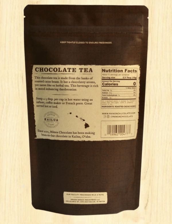 Tutu's Pantry - Manoa Chocolate Tea - 2