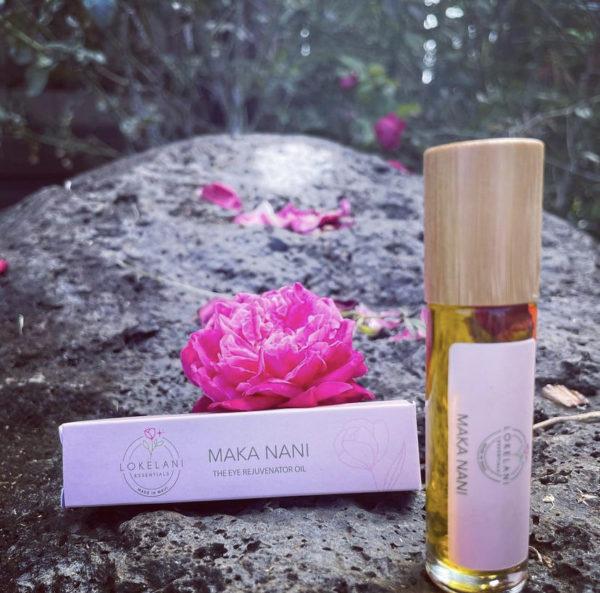 Tutu's Pantry - Maka Nani Eye Rejuvenator Oil - Lokelani Essentials - 1