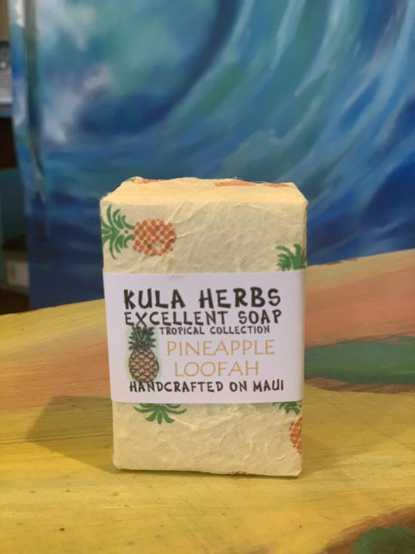Tutu's Pantry - Kula Herbs Pineapple Loofah Soap - 1