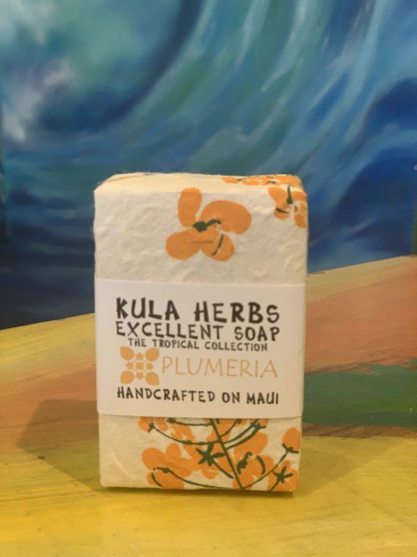Tutu's Pantry - Kula Herbs Plumeria Soap - 1