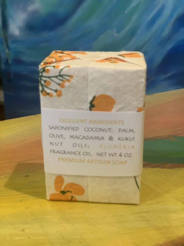 Tutu's Pantry - Kula Herbs Plumeria Soap - 2