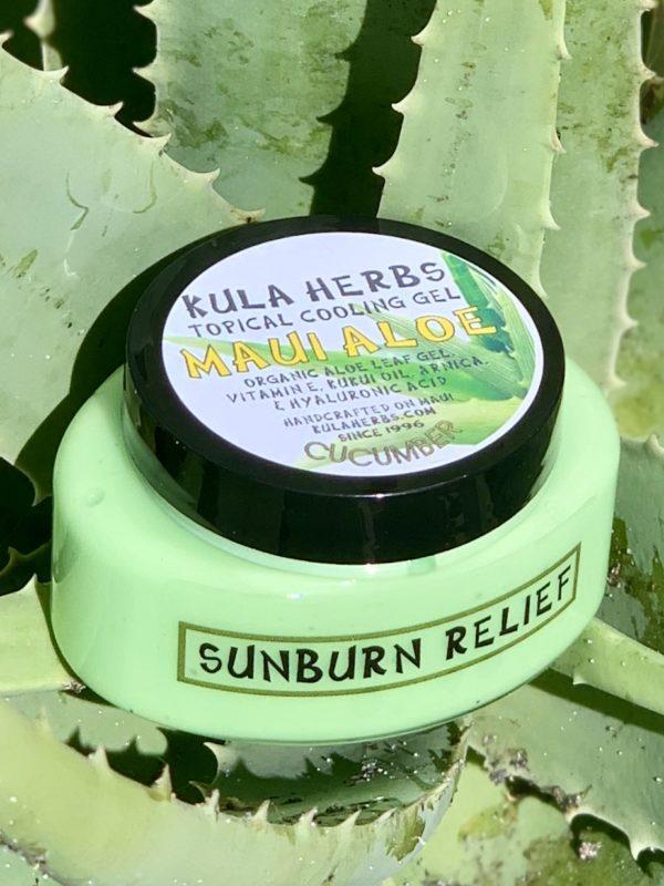 Tutu's Pantry - Aloe Sunburn Relief - 1