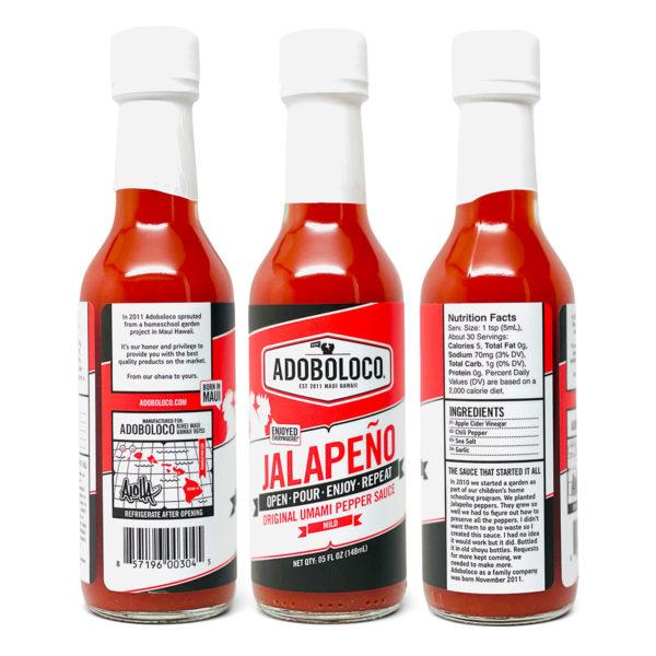 Tutu's Pantry - Adobo Loco Jalapeno Hot Sauce - 2