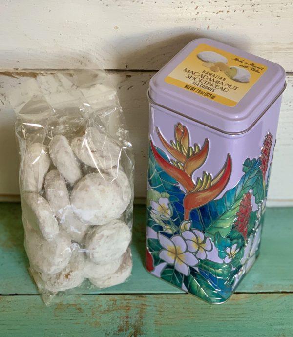 Tutu's Pantry - Macadamia Nut Shortbread Cookies in Hawaiian tin - 3