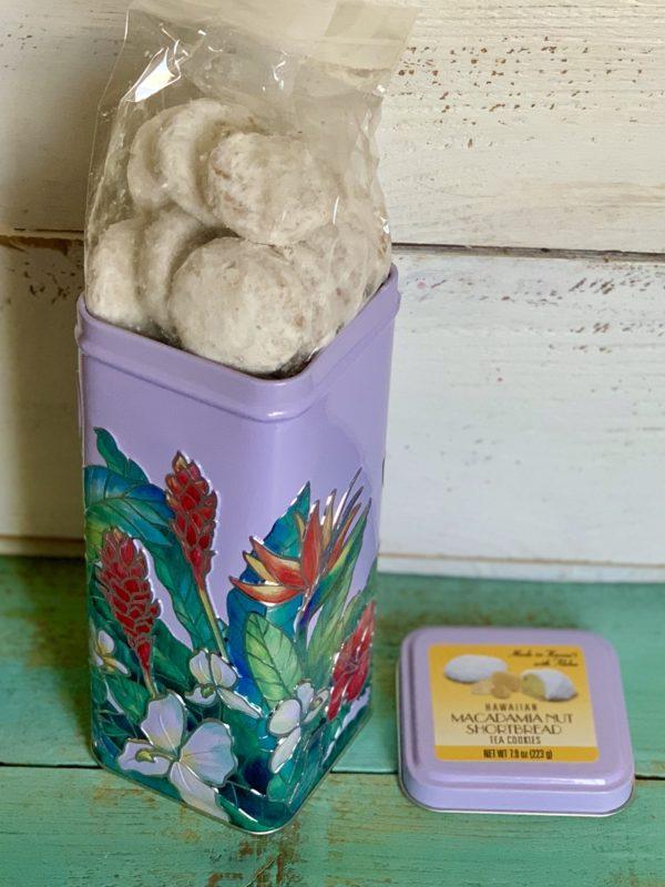 Tutu's Pantry - Macadamia Nut Shortbread Cookies in Hawaiian tin - 2