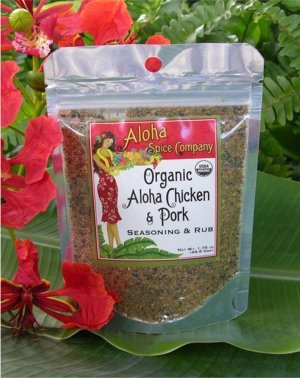 Tutu's Pantry - Organic Aloha Chicken & Pork Seasoning & Rub - 1