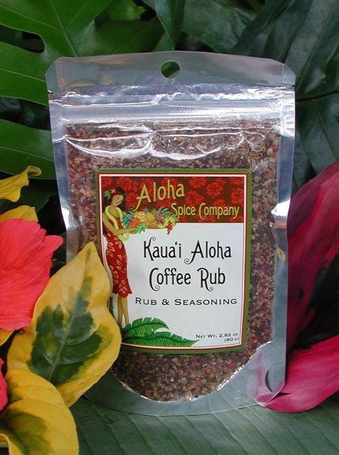 Tutu's Pantry - Kaua'i Aloha Coffee Rub & Seasoning - 1