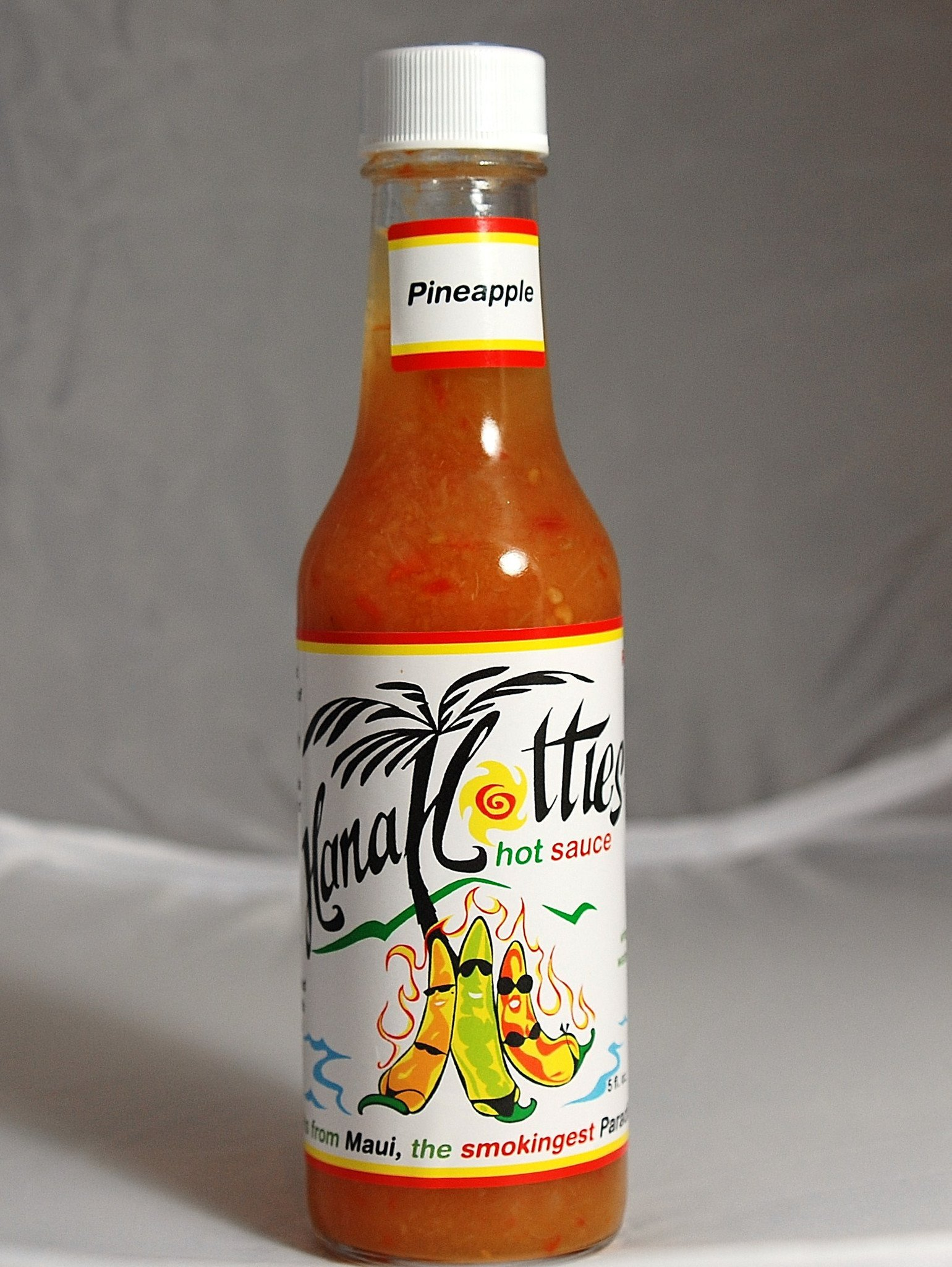 Tutu's Pantry - Hana Hotties Papaya Hot Sauce - 7