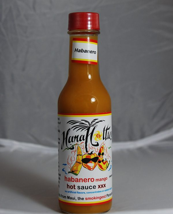 Tutu's Pantry - Hana Hotties Papaya Hot Sauce - 4