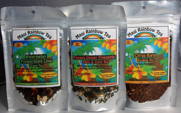Tutu's Pantry - Maui Rainbow tea - Ginger Citrus Mint (Green tea) - 4
