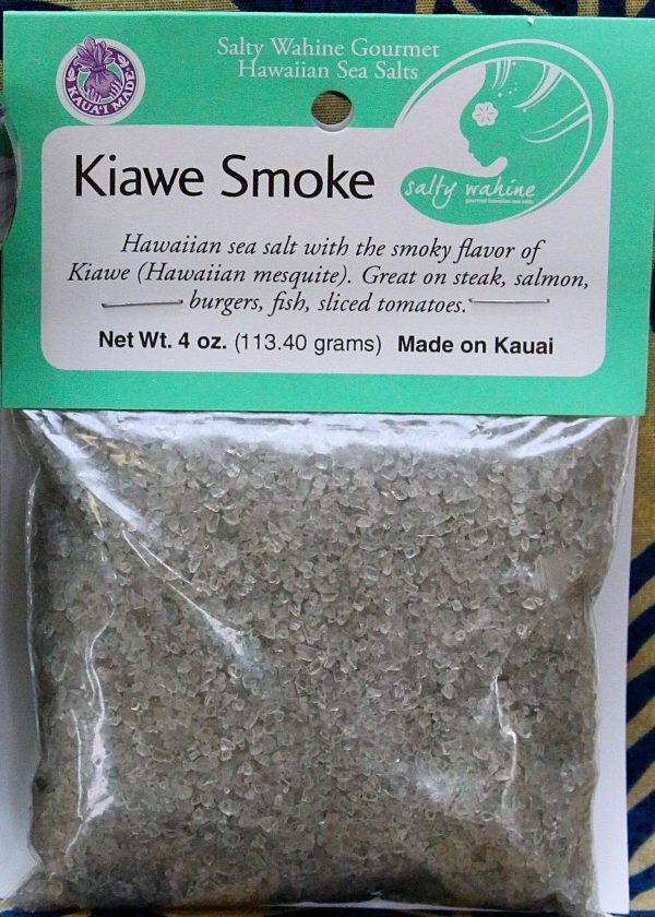 Tutu's Pantry - Kiawe Smoke Salty Wahine Gourmet Sea Salt - 1