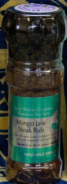 Tutu's Pantry - Mango Java Steak Rub Refillable Grinder - 1