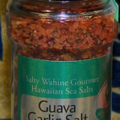 Guava Garlic Refillable Grinder Sea Salt