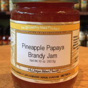 Pineapple Payaya Brandy Jam