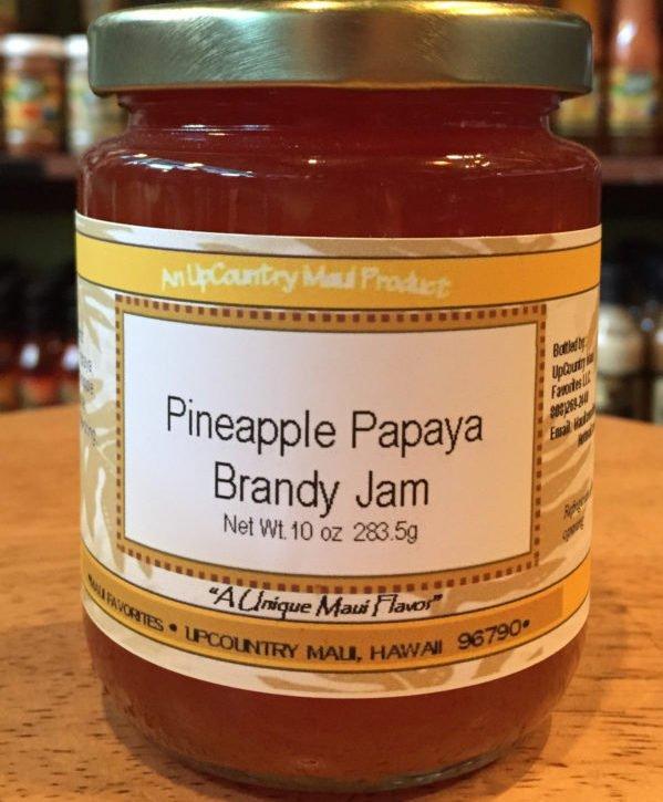 Pineapple Payaya Brandy Jam