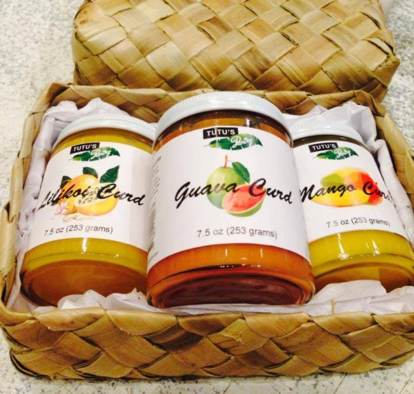 Tutu's Pantry - Guava, Mango, Lilikoi Curd Basket - 1