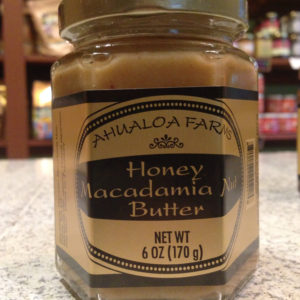 Honey Macadamia Nut Butter