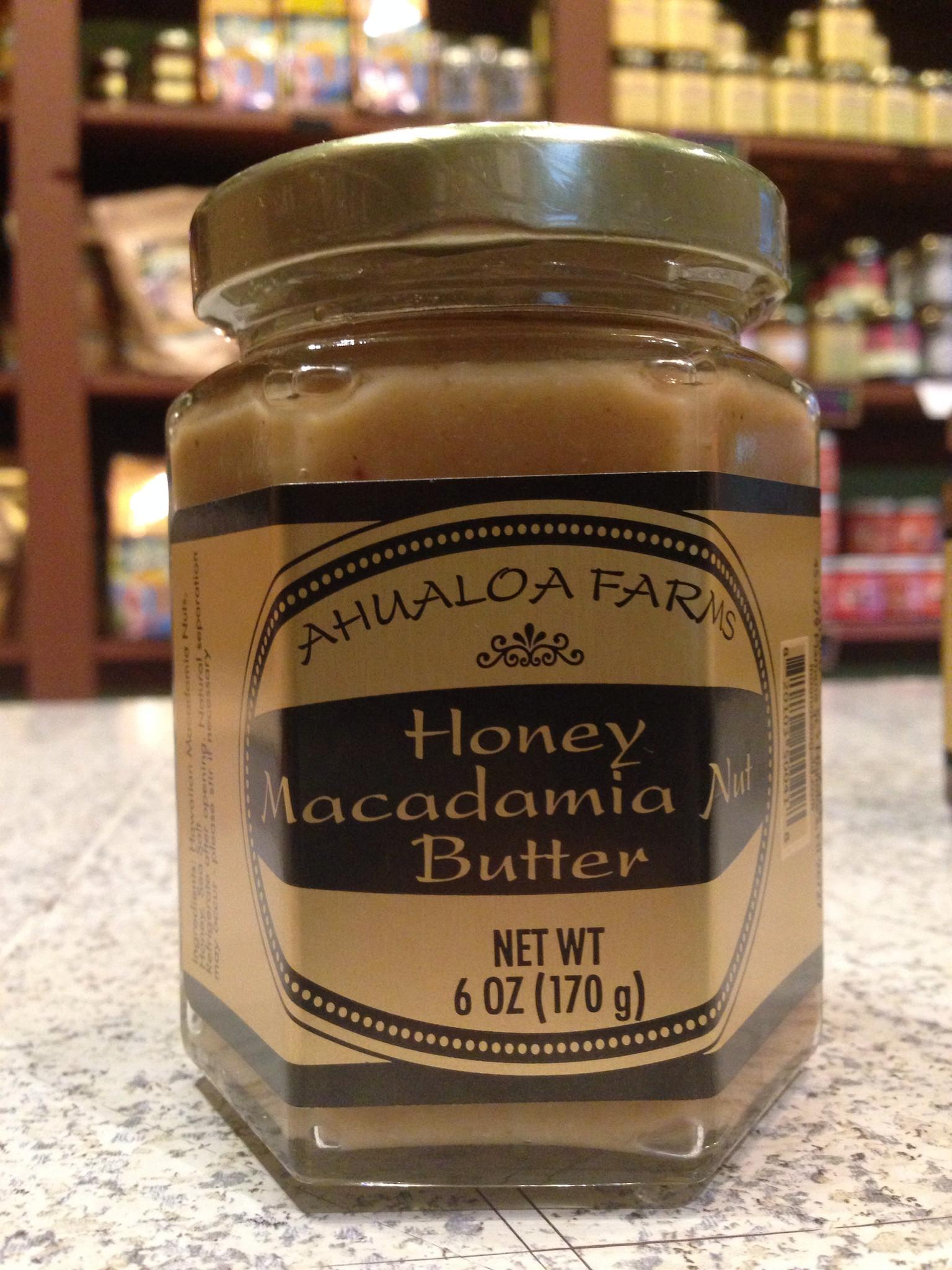 Honey Macadamia Nut Butter