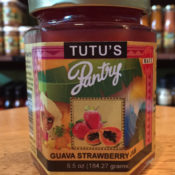 guava strawberry jam