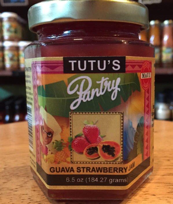 guava strawberry jam