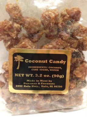 Coconut Candy - Bananas and Coconut - 3.2oz